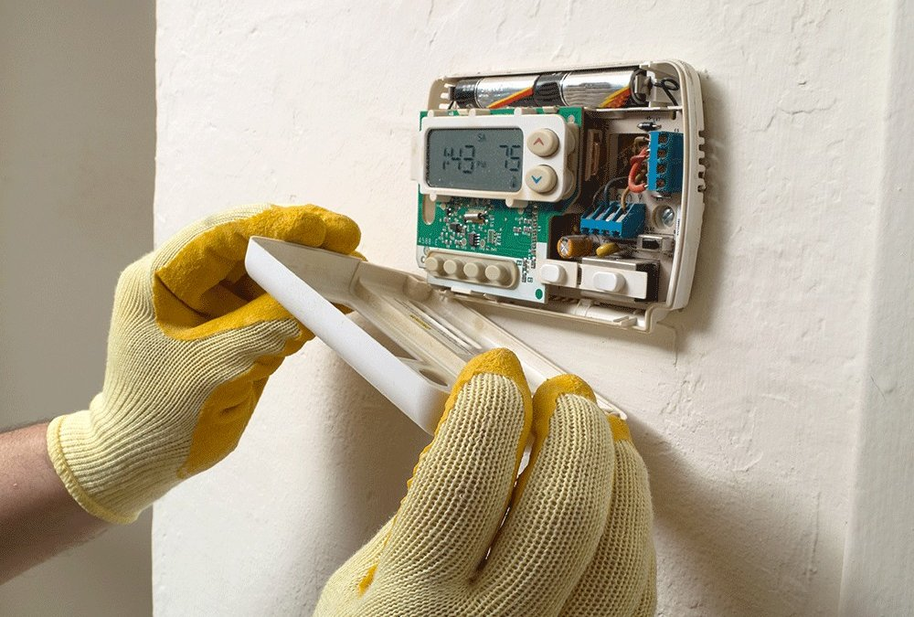 Installing a Programmable Thermostat for your Home
